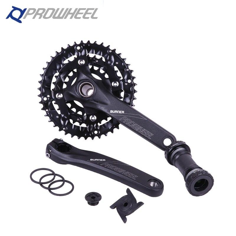 Original Prowheel Vigor  401 MTB Mountain Bike Crankset 7 8 9 Speed Better Than M610 Bicycle Crank Chainwheel 30 speed куплю компрессор 2вм4 8 401