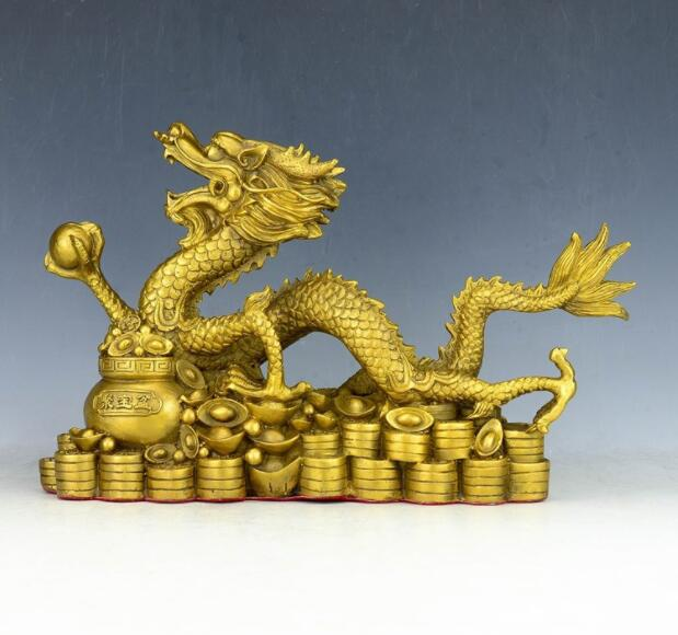 Collection  Antique  Chinese Dragon  Pure copper  Earpick