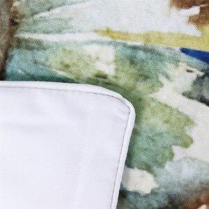 Image 4 - Cammitever فراشة زاك مجموعة مفروشات الملك الحجم فاخرة طباعة البوهيمي أغطية 3d الكون حاف الغطاء