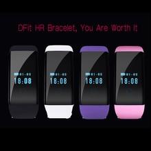 Мода Стиль D21 Акции Bluetooth Смарт Браслет Браслет Шагомер Heart Rate monitor Фитнес Tracker Здоровье Фитнес-Трекер