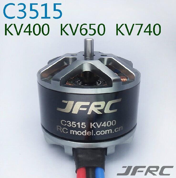 цена на JFRC C3515-KV400/650/740 Multi-rotor motors Multi-axis brushless motor HM aerial disc motor