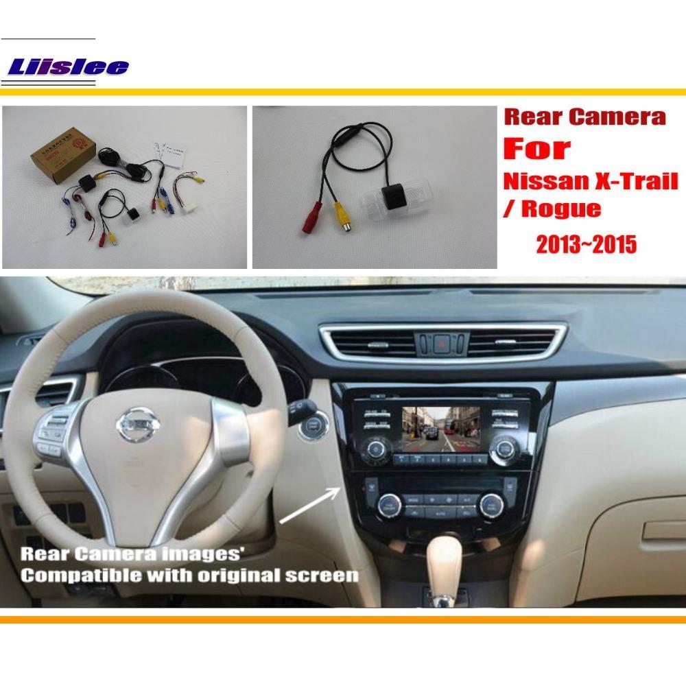 837fff4c11b Liislee Car Câmara de Visão Traseira Câmera Reversa Para Nissan  Qashqai X-Trail Rogue 2013 ~ 2016 RCA   Tela Original Compatível