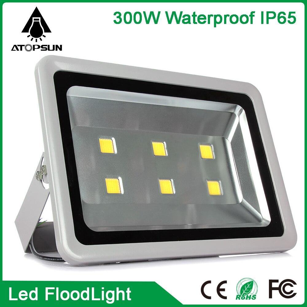 2pcs 85-265v 6000k 220v 110v Spotlight 100w 200w 300w 400w 500w Floodlight Street White Ip65 Waterproof Outdoor Lighting Lights & Lighting Outdoor Lighting