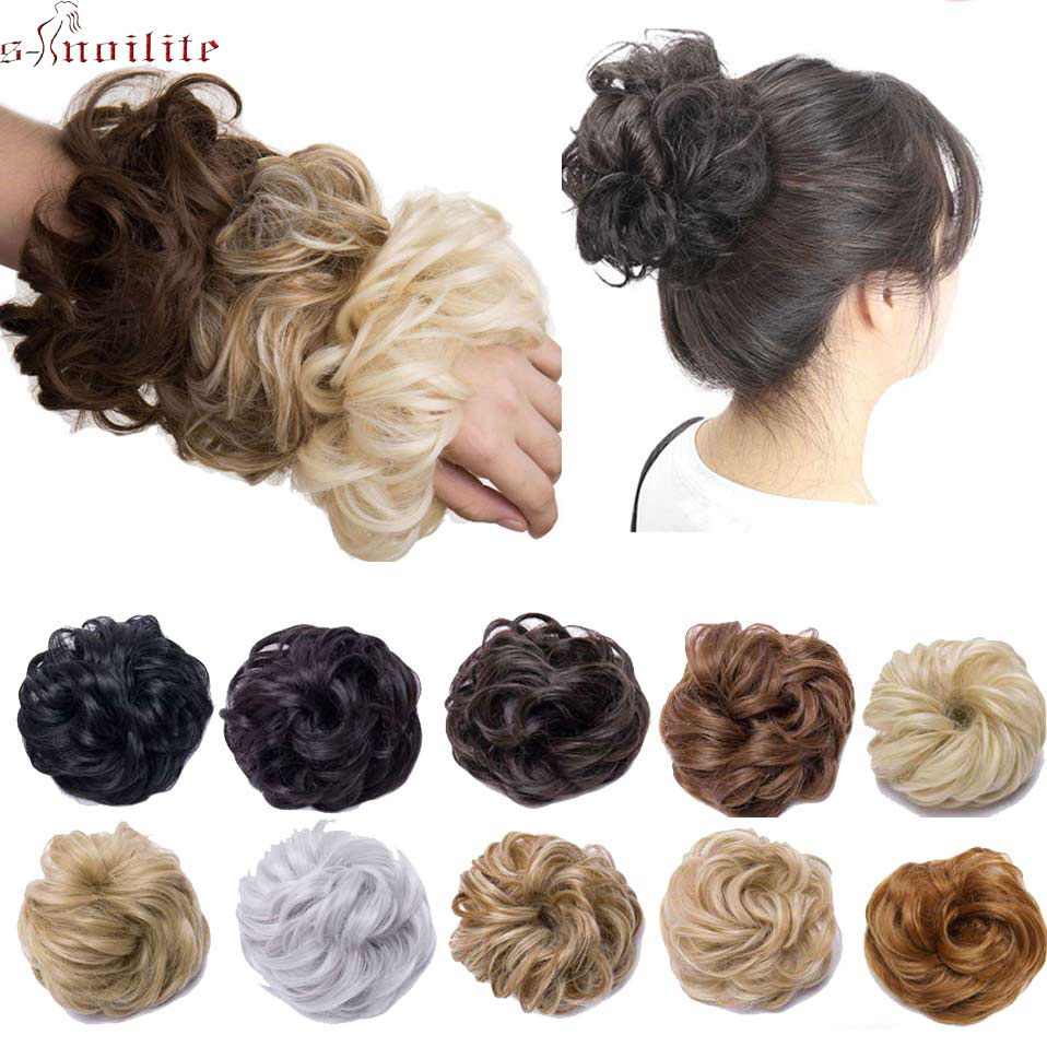 Jewelry & Accessories Women Tiara Satin Curly Messy Wavy Hair Bun Extension Elastic Hair Tie Hairpiece Wig Hair Bands Fashion Hair Scrunchie S1954 Spare No Cost At Any Cost Jewelry Sets & More