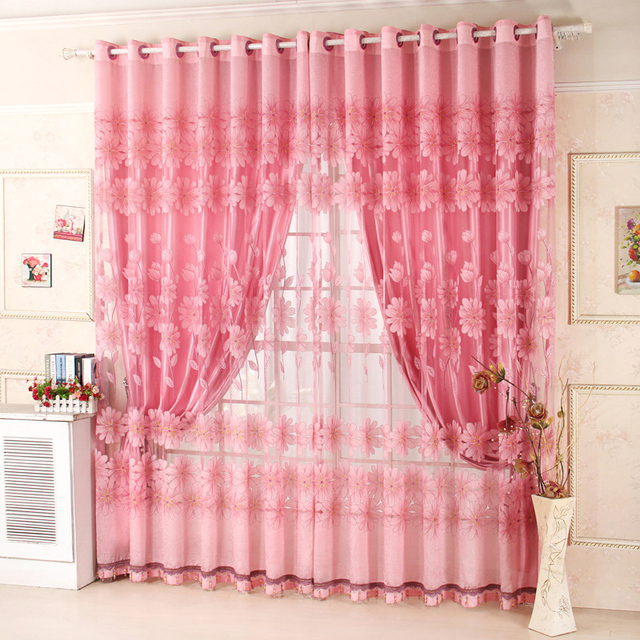 2017 On Sales Rustic Hole Digging Curtain Carved Curtains For Living Room Bed