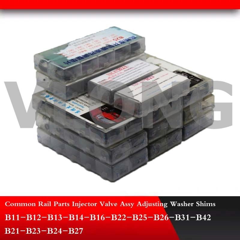 Adjusting Shim Common Rail Injector adjustment Gasket washer B11 B12 B13 B14 B16 B21 B22 B23 B24 B25 B26 B27 B31 B42 700pcs/lot