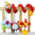 Детская музыкальная подвесная кровать безопасности сиденье плюшевая игрушка, ручной Колокольчик многофункциональная плюшевая игрушечная коляска Мобильный многоцелевой Круг Круглый 20% - фото
