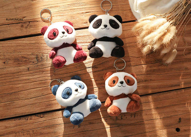 Multi-Designs -  CUTE 4-10cm New Panda Plush Toys , Stuffed Panda Animal Toys Dolls , Wedding Gift