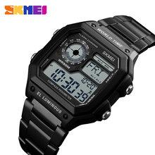 e54f4e5a SKMEI Mes брендовые модные спортивные часы Мировое время военные  Водонепроницаемый хронограф регулируемый ремешок наручные часы Relogio