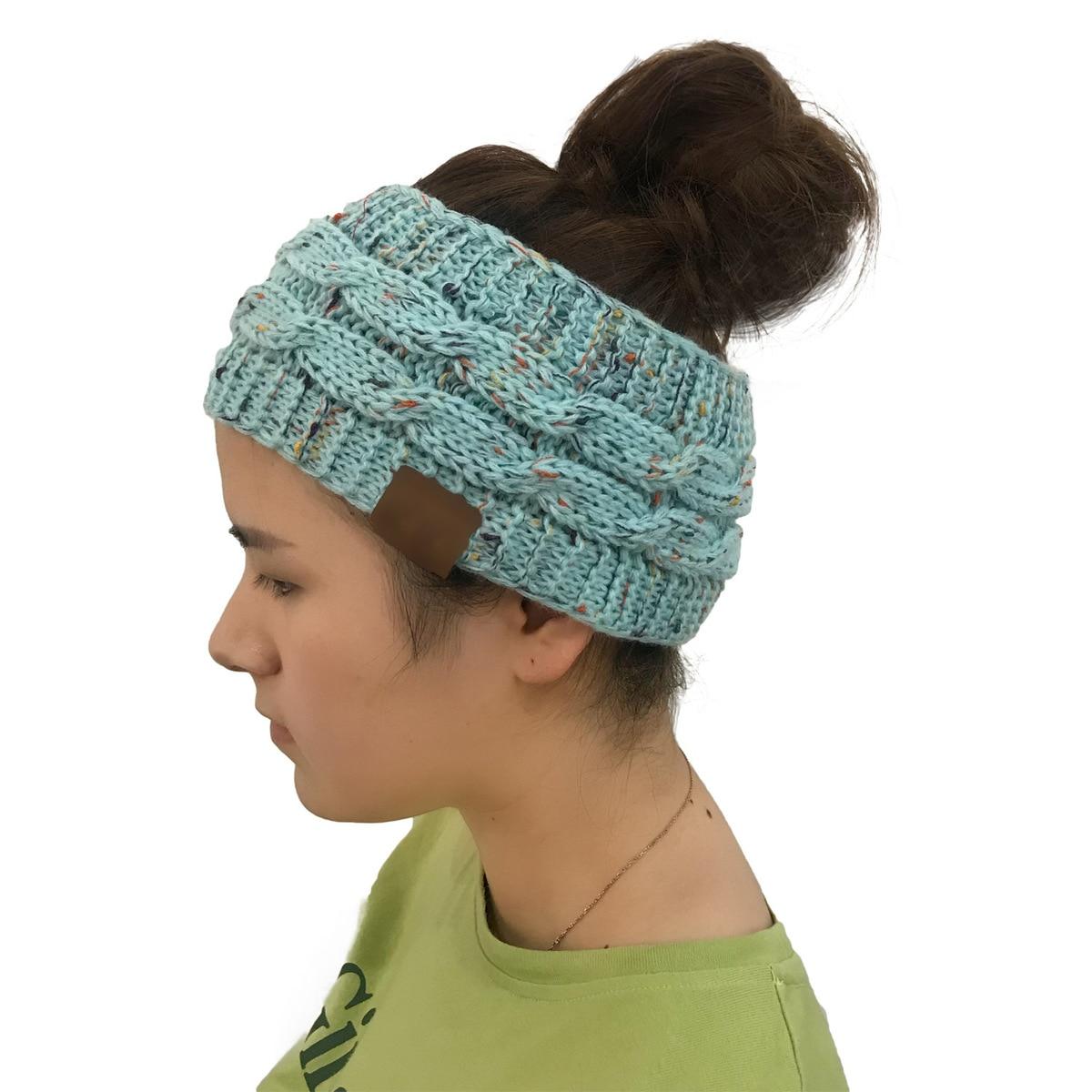 ... Cap Women s Classic CC Beanies Ear Warmers Head Wrap Thick Knit Headwrap  CC Hat ... ce6b22fc7da7