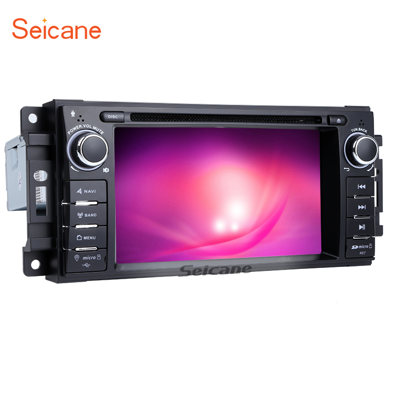 Seicane Android 7.1 Car DVD Radio GPS Navigation