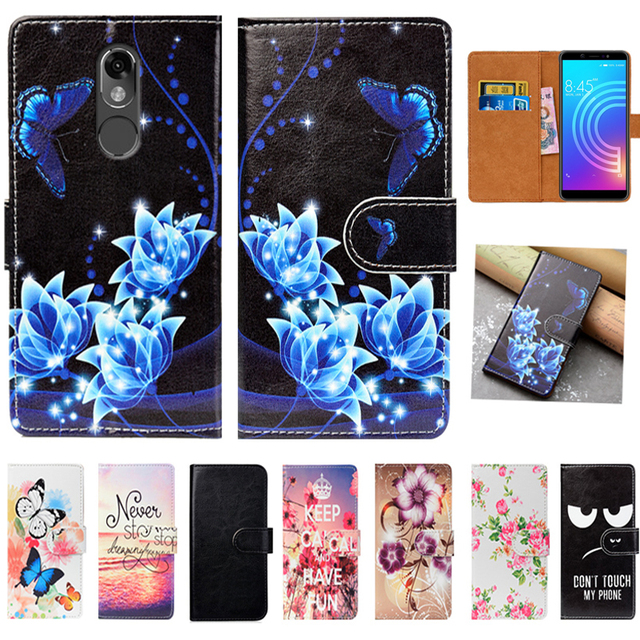 d22b522c86c2d9 For Itel A44 Case High Quality Pu Leather 5.45 Flip Wallet Case Back Cover  Book Case Bag