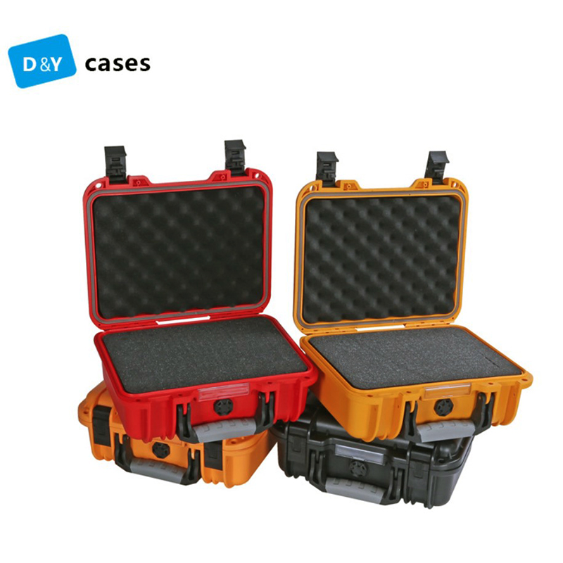 Waterproof Protective Safety Toolbox Equipment Suitcase Impact Resistant Instrument Plastic Tool Case Shockproof With Sponge