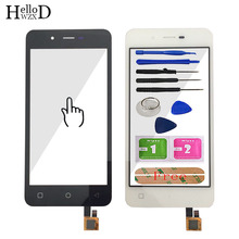 4.7 Touch Screen Glass For Micromax Q380 380 Touch Screen Glass Digitizer Panel Front Glass Lens Sensor Tools Free Adhesive