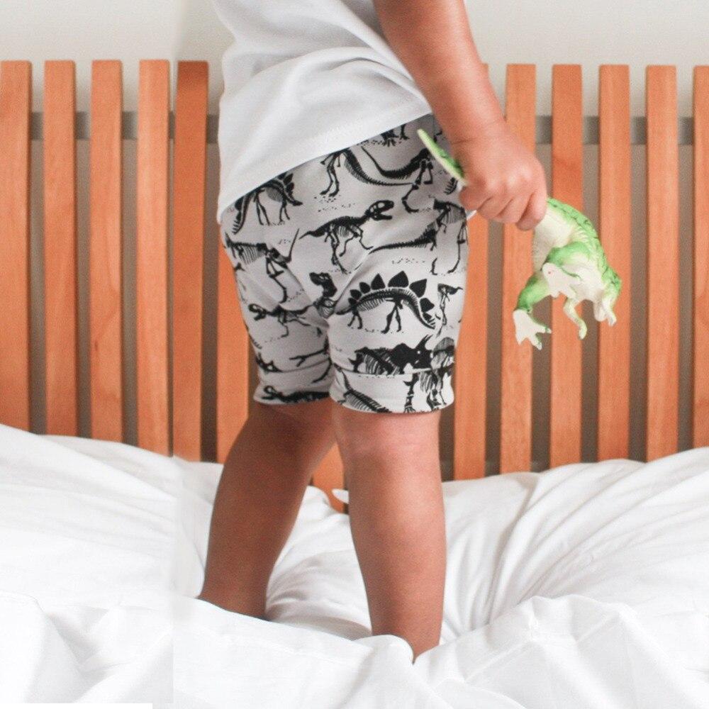 Модная одежда для детей, Детская мода Обувь для мальчиков Шорты для женщин мультфильм 3D Динозавр узор по колено летние дети Шорты для женщин...