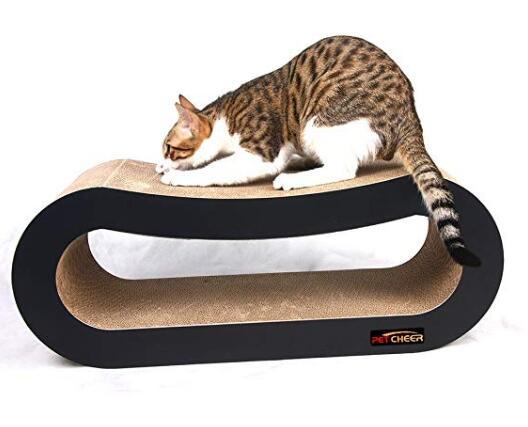 جامبو القط هرش أريكة صالة الدهون سرير للقطط كرتون ورقة عالية الجودة القط لعبة الخدش وسادة كبيرة الصبي-في أثاث وبطانات من المنزل والحديقة على  مجموعة 1