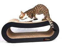 Jumbo Cat Scratcher Lounge Sofa Fat Cat Bed Cardboard Paper High Quality Cat Toy Scratching Pad Big Boy