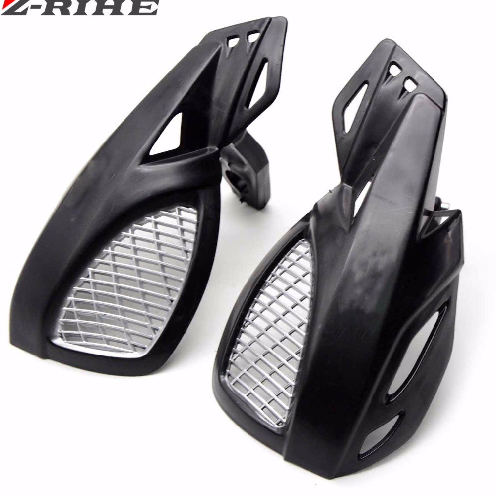 Hand Guard Handguard Protector For 22mm 7/8 Handlebars Motorcycle ATV Dirt Bike for Kawasaki KX/KL-XF/KLR/KL Honda CRF XL XLR