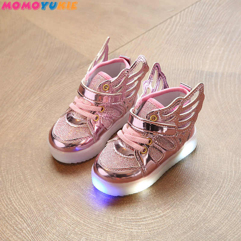 423d7bad9edf3 Detail Feedback Questions about Kids Glowing Sneakers Sneakers with ...