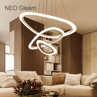 NEO Gleam New Top Modern Led Pendant Chandelier Lights For Dinning Room Living Room Restaurant Kitchen