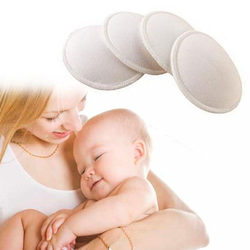 4x absorbance douce étanche fournitures de maternité coussin d'allaitement soutien-gorge d'allaitement # H055 # (lot de 4)