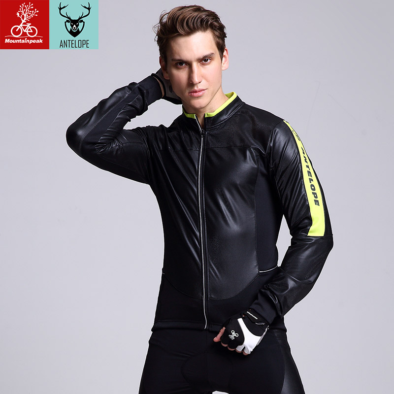 Mountainpeak  2017 New Cycling Jersey Pu Wind Insulation Men And Women Clothes Dry air High carbon sponge cushion Cycling Set