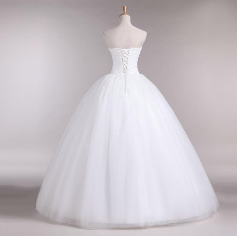Gratis verzending 2013 nieuwe collectie Mansi bruids trouwjurk, - Trouwjurken - Foto 2
