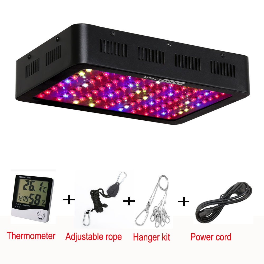 300W Led Grow Lights Panel Led plant lamps for indoor Greenhouse hydroponic For Vegetables& Flowers abrar hussain shah hydroponic vegetables production