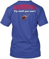 Piloti di elicottero Fly Roba Non Puoi-non Può Hanes Tagless Tee T-Shirt
