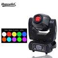 Mini RGBW 60W cabeza móvil de alta potencia LED DJ con Prisma de 3 facetas