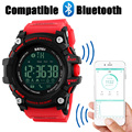 SKMEI Men Smart Sport Watch Bluetooth Calorie Pedometer Fashion Men's Watches Man 50M Waterproof Digital Clock relogio masculino