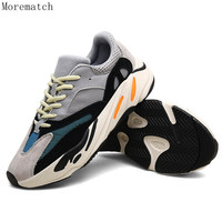 Morematch Men Lightweight Running Shoes Gym Outdoor Sport Shoes Breathable Comfort Fitness Sneakers