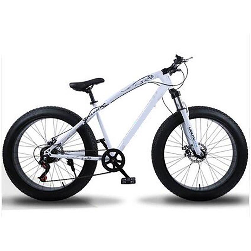 26 Inch 24 Speed High Carbon Steel Frame Super Wide Tire Mountain Bike