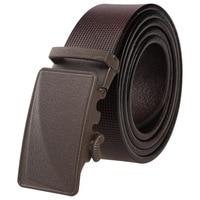 2017 New Brand Grind Arenaceous Designer Automatic Buckle Men S Belt Genuine Leather Belt Men Black