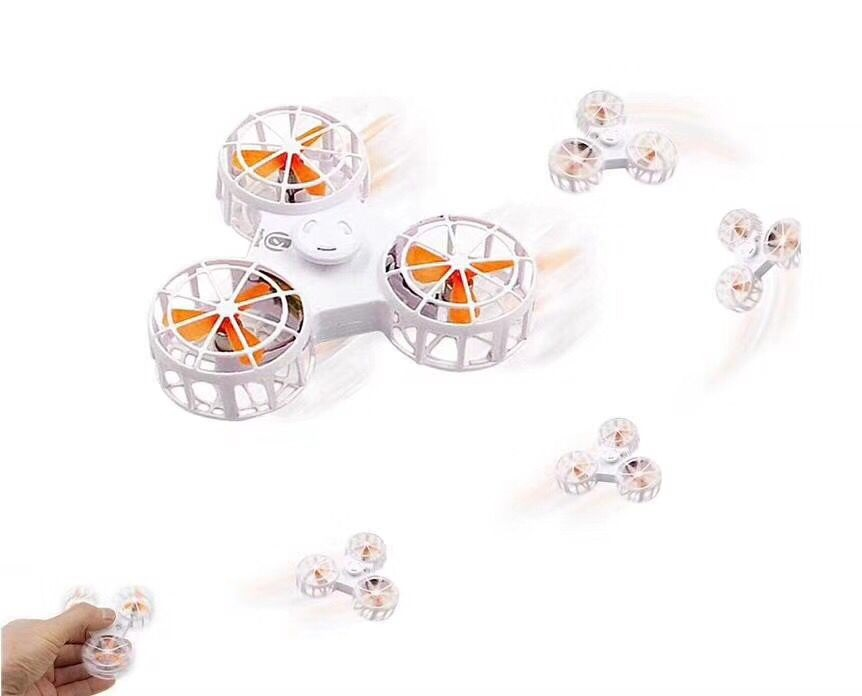 5 Colors EDC Fidget Spinner UFO Tri-spinner Hand Spinner Aluminum Alloy Fidget Toy Anxiety Stress Adults Kid Metal Spinner metal edc fidget spinner stress relief toy