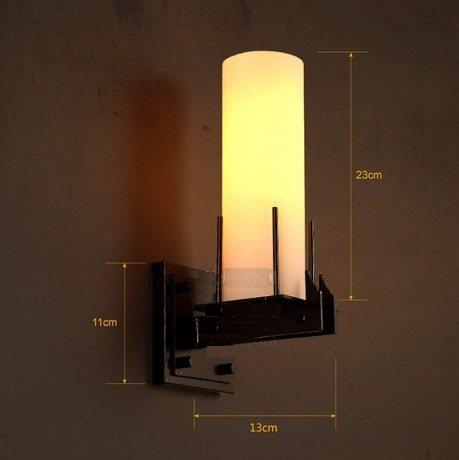Applique Murale Verre. Interesting Loft Style Industriel Bougie Led ...