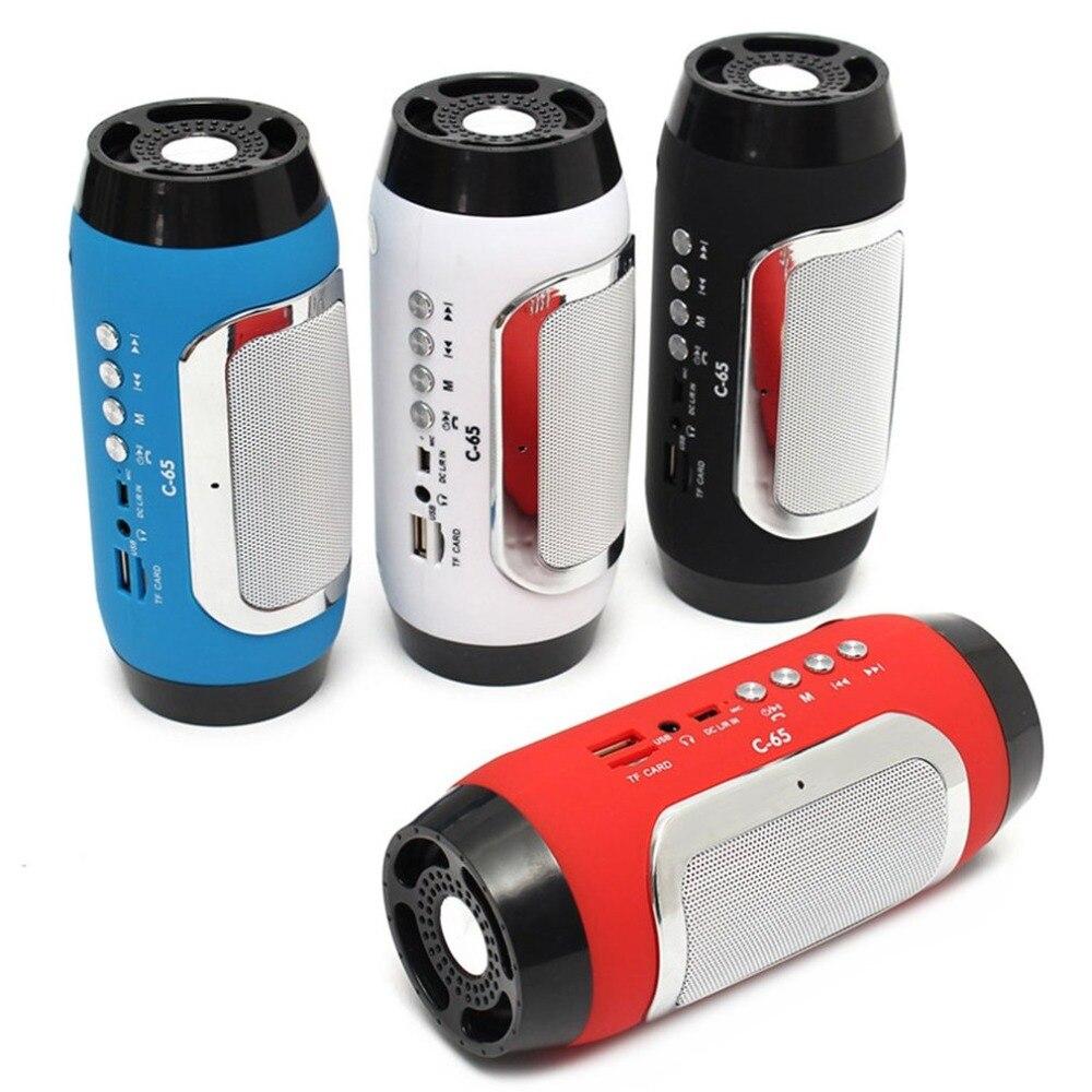 Wireless Bluetooth Speaker Mini Portable Loud Speaker USB Rechargeable High Power Stereo Speaker Support FM TF USB Flash Drive