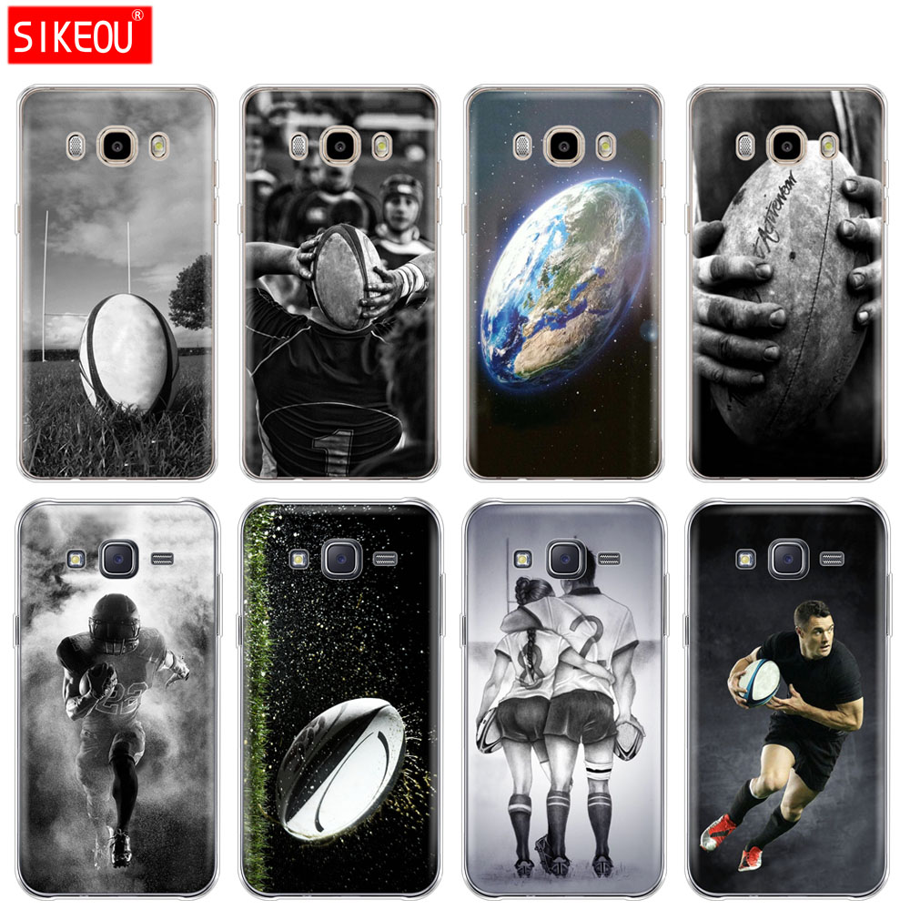 Cellphones & Telecommunications Silicone Cover Phone Case For Samsung Galaxy J1 J2 J3 J5 J7 Mini 2016 2015 Prime Rugby Ball Sport Strengthening Sinews And Bones