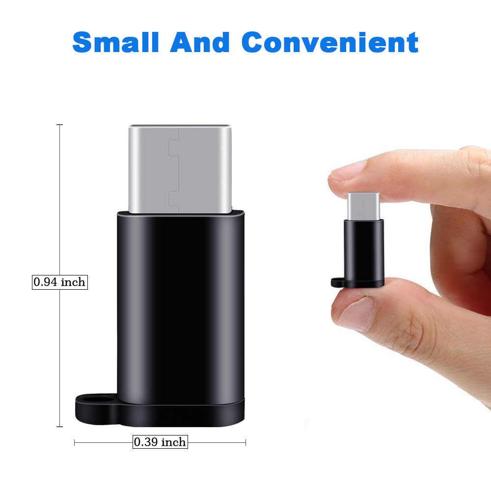 شيري USB C محول المصغّر USB ل شياو mi mi 9 redmi note 7 سامسونج S10 S10 + Carregador نوع c كابل Adaptador تيبو C موصلات