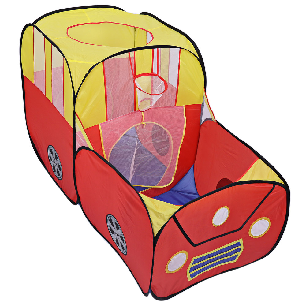 Foldable Kids Toys Tents Play Tent Baby Outdoor Indoor Playhouse Cartoon Car Play Game House Toy Tents Cubby Gifts for Child outdoor puzzle folding mongolia bag game house tents