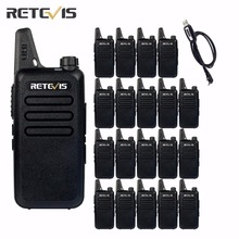 20pcs Walkie Talkie Retevis RT22 UHF 400-480MHz Transceiver 2W 16 CH CTCSS/DCS TOT VOX Scan Squelch 2 Way cb Radio(Black) A9121A