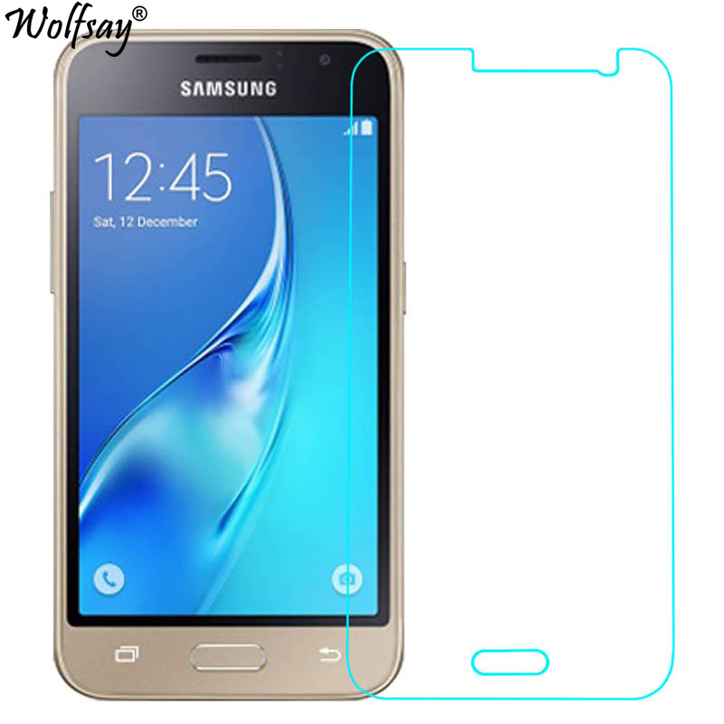 2PCS For Tempered Glass Samsung Galaxy J1 2016 Screen Protector Thin Film For Samsung Galaxy J1 2016 Glass For Samsung J1 2016 ...