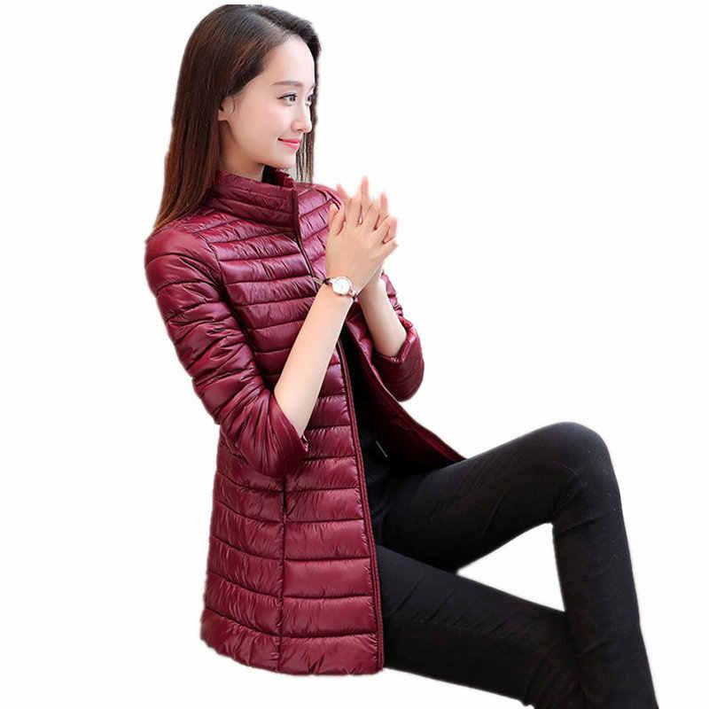 Куртик-Для женщин 2019 зимнее женское пальто Sustans-мягкий Jaqueta Chaqueta Casaco размера плюс мес.-4 лет, есть большие размеры, длинное осенне-зимнее двубортное пальто