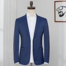 Мужской костюм куртка сплошной цвет v-образным вырезом Повседневная Весна и лето с длинным рукавом костюм пальто