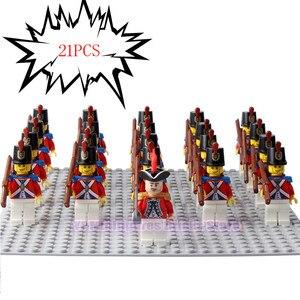 Image 4 - LegoING 軍海兵隊 Minifigured 帝国ロイヤルガード銃プレイモービルビルディングブロック子供のギフトのおもちゃ