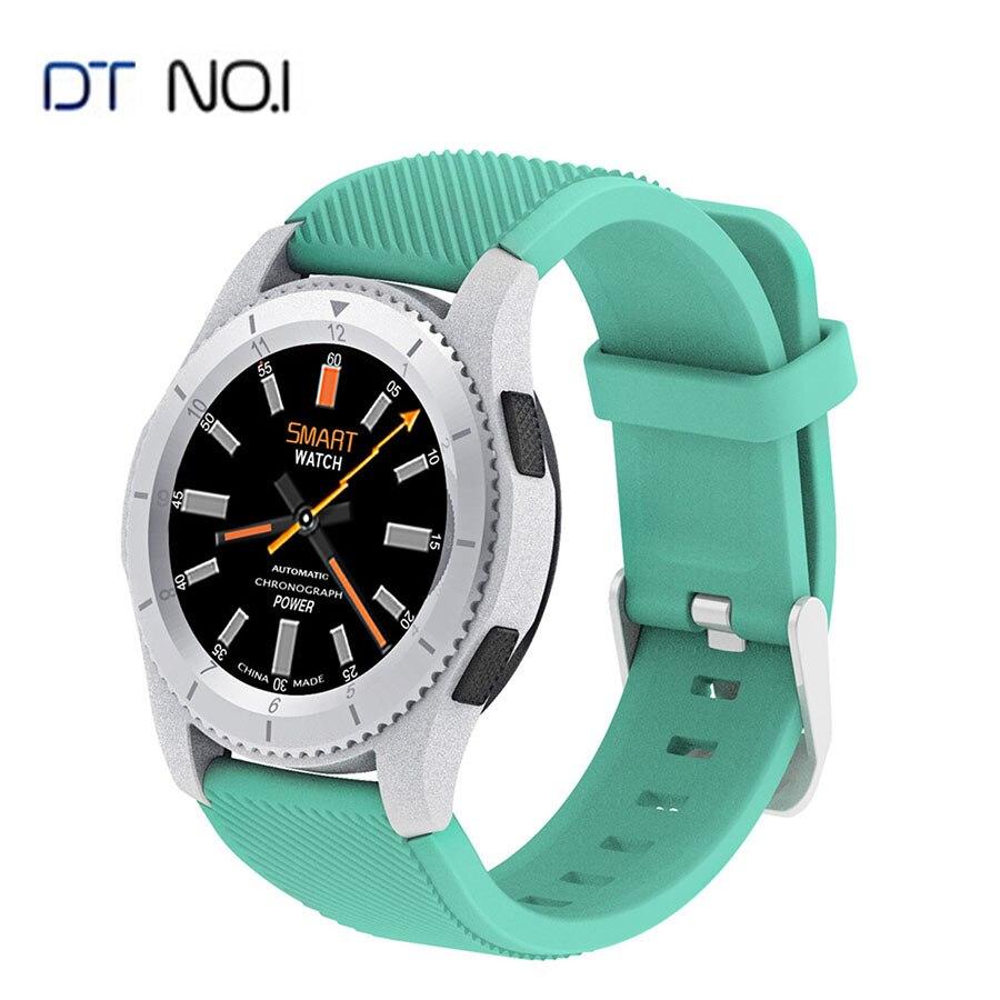 No 1 G8 Bluetooth montre connectée SIM Appel rappel de message moniteur de fréquence cardiaque Podomètre Smartwatch Pour Android Apple Samsung Téléphone