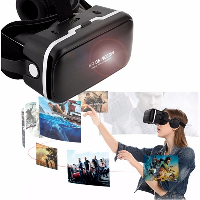ITSYH VR box glasses 6.0 Virtual Reality 3D VR for 4.7 2