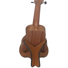 New Ukulele bracket sponge side violin stand wooden frame sponge cover anti-slip anti-smash support