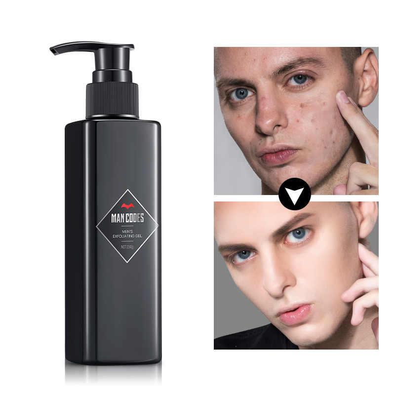 Men 150g Facial Cleanser Face Scrub Natural Facial Exfoliator