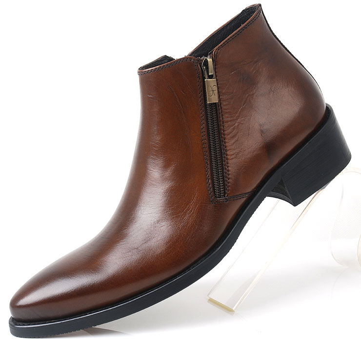 2013 new mens formal footwear comfortable shoes high top